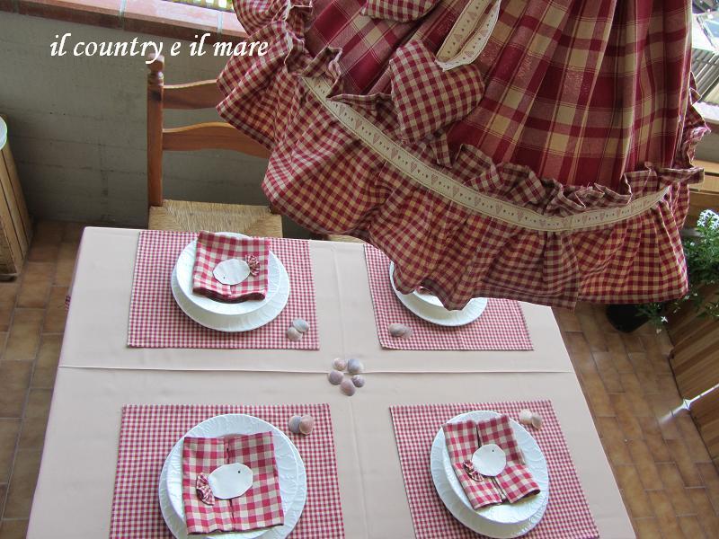 Il country e il mare giugno 2012 - Lampadari cucina country ...