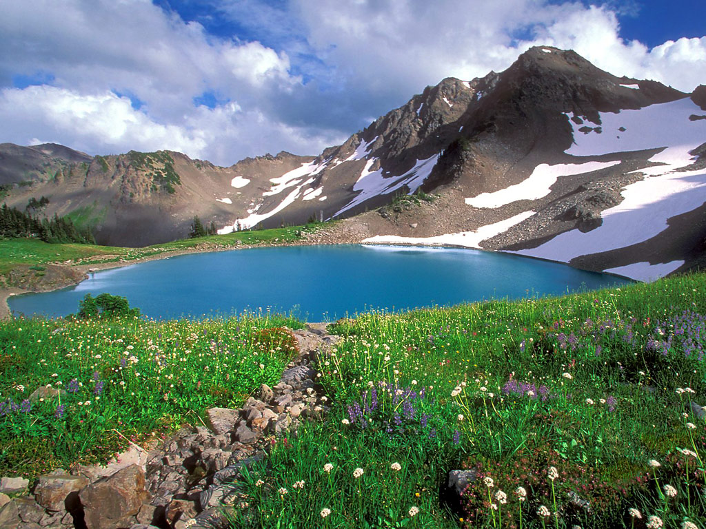 Alpine Tranquility Olympic National Park Washington 98 - Beauty O'v NaTuRe ....... !!!!!!!!