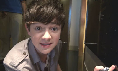 Greyson Chance in Singapore Video