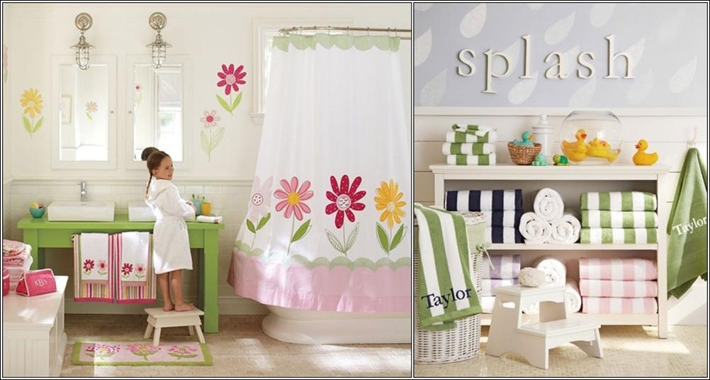 Id es de salle de bain pour les enfants d cor de maison d coration chambre - Temperature salle de bain pour bebe ...