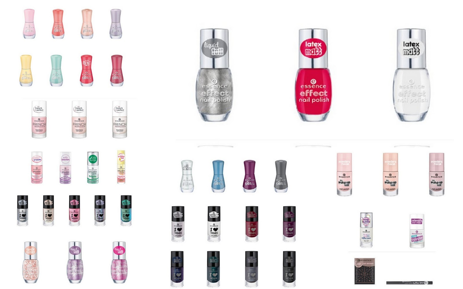NEW! Essence fall/winter collection revealed!