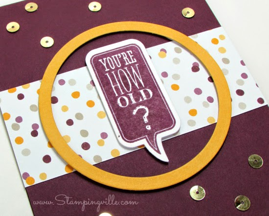 Stampingville: Stamps + Matching Framelits = Instant DIY Elements for cards and scrapbooks