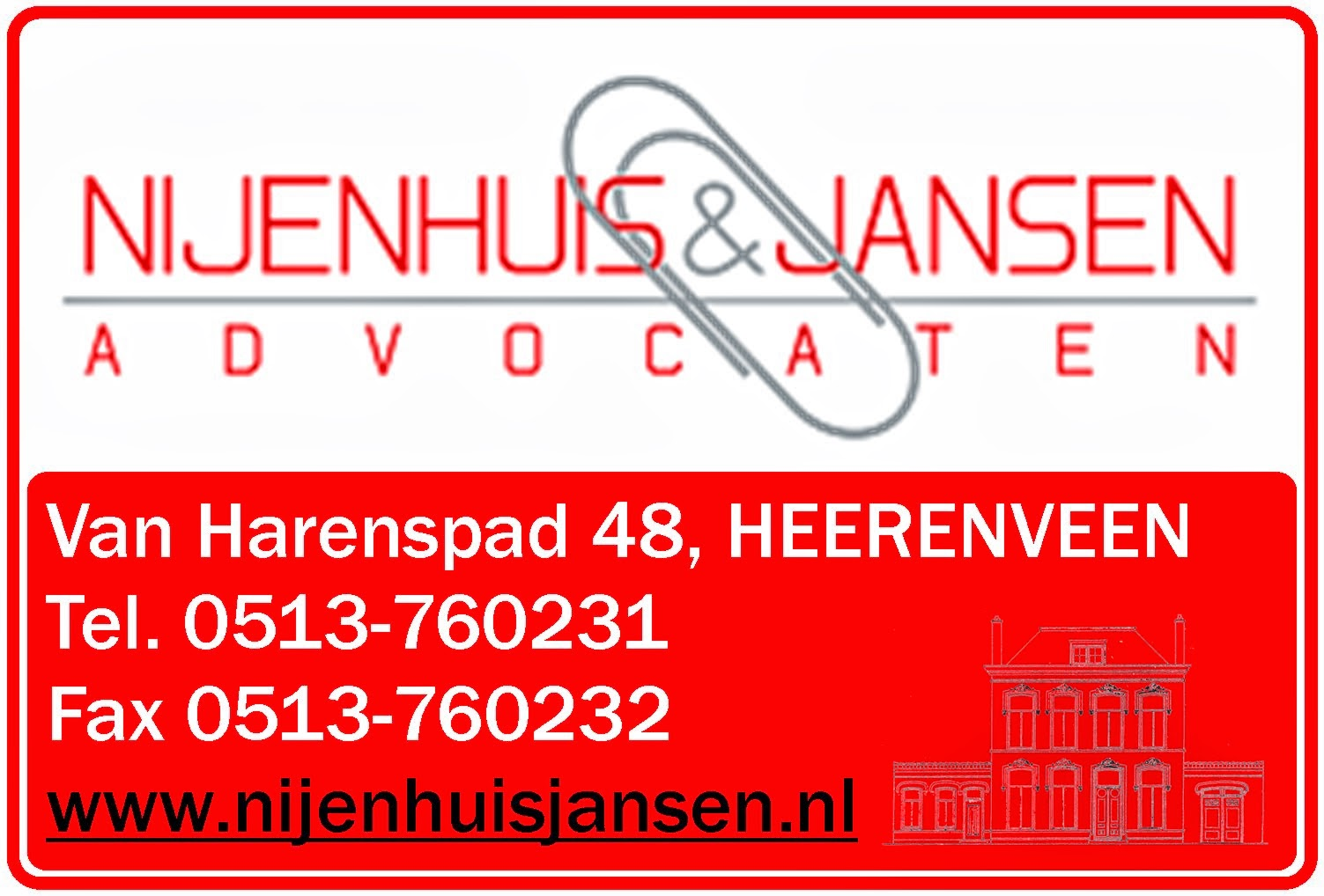 Sponsor: Nijenhuis & Jansen Advocaten