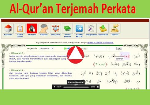 Qur'an, Hadits, Pencarian, dll