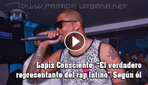 """NOTI-URBANA - El exponente Urbano """"Lapiz Conciente """" Dice, que él es el representante el Rap Latino"""""""