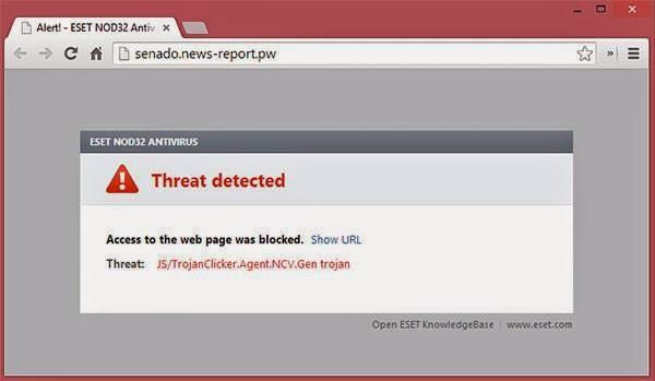 Sen. Miriam Santiago fake news virus webpage