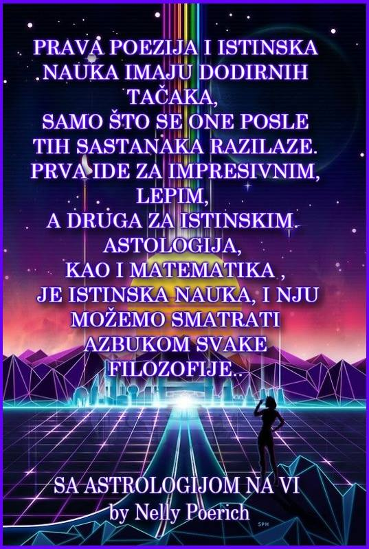 SA ASTROLOGIJOM NA VI by Nelly Poerich