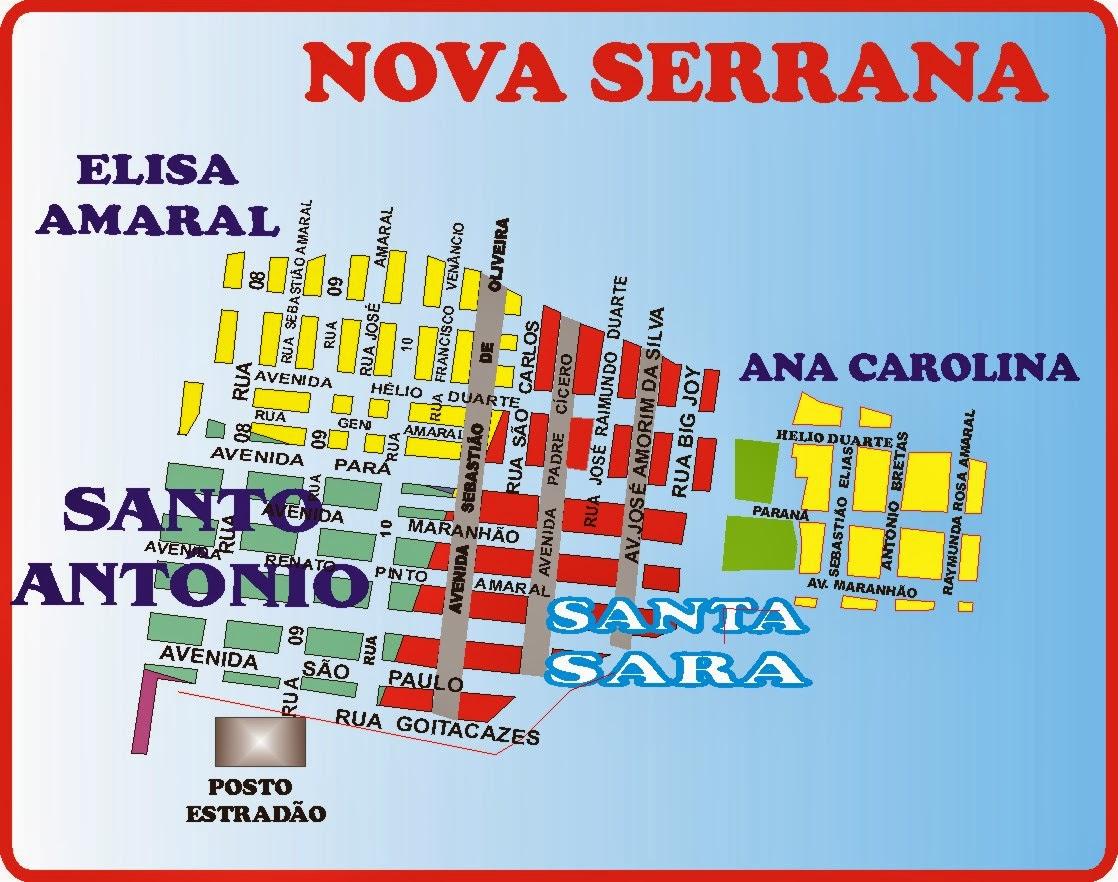 Santo Antônio - Elisa Amaral e Adjacências