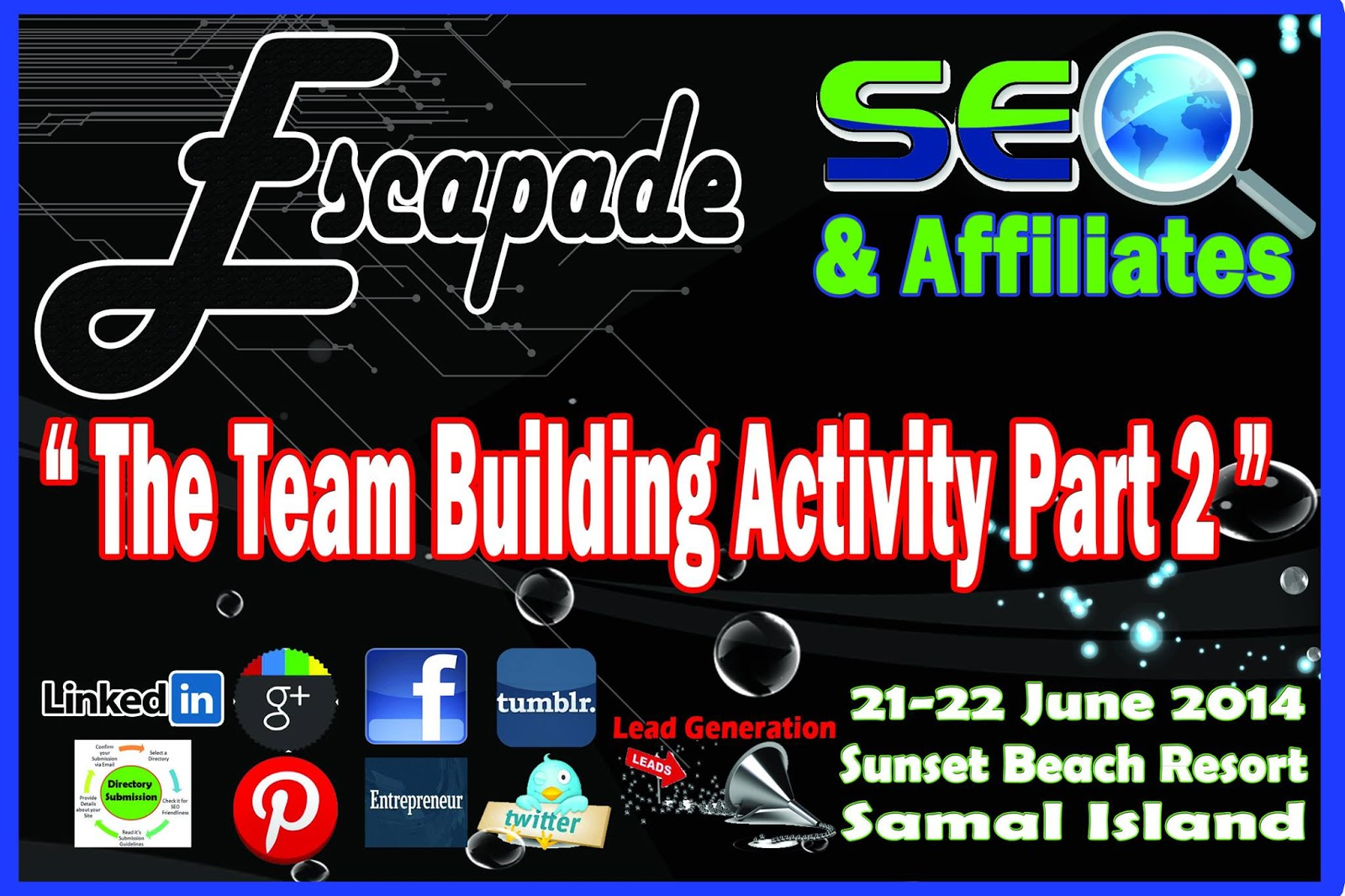 Escapade: SEO and Affiliates' Team Building Activity Part 2 | www.emmanuelalba.com