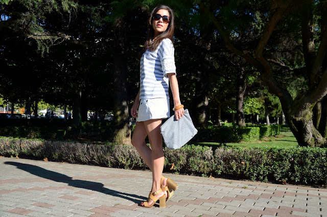skirt-white-rayas-stripes-look-summer-verano-mini-falda