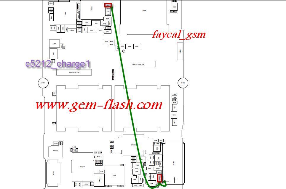 Схема для самсунг с5212