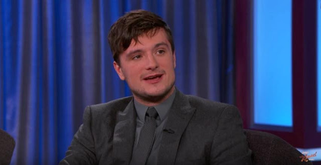 josh hutcherson jimmy kimmel live mockingjay part 2