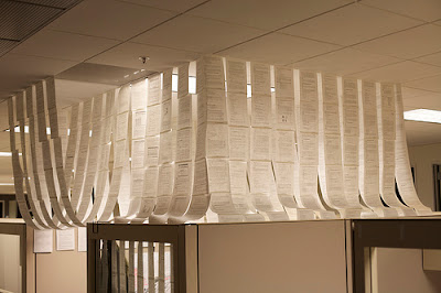 paper house office prank Funny Pictures: 30 Great Office Pranks.