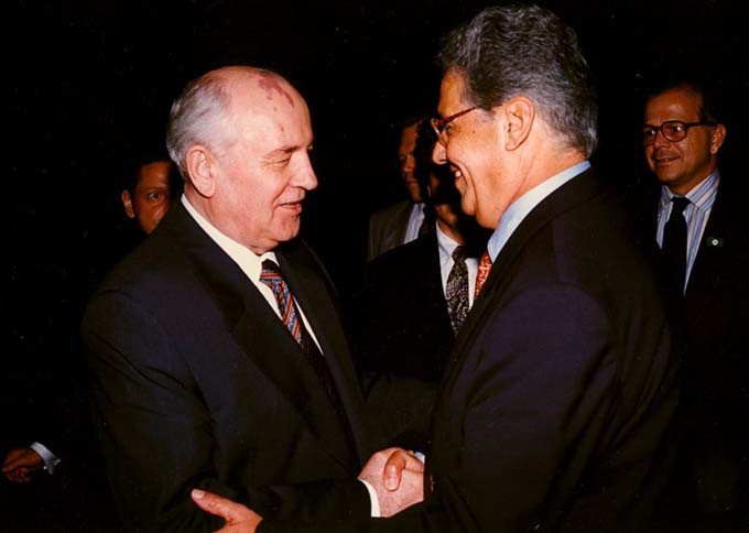 FHC & Mikhail Gorbachev