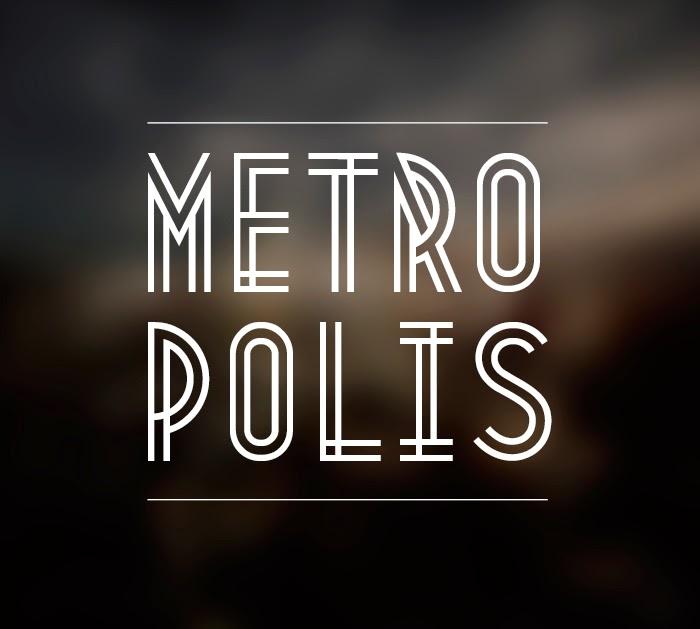 metropolis creative font