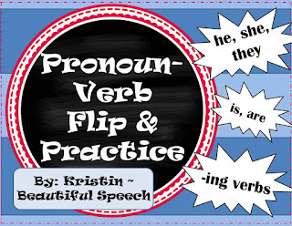 https://www.teacherspayteachers.com/Product/Pronoun-Verb-Flip-Practice-1859039