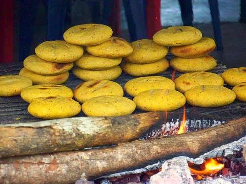 COLOMBIA!!! Arepas+maiz