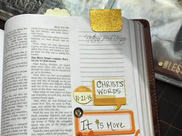Journaling Bible | Acts 20:35