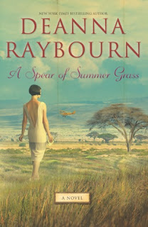 Book cover of A Spear of Summer Grass by Deanna Raybourn (Book Review)