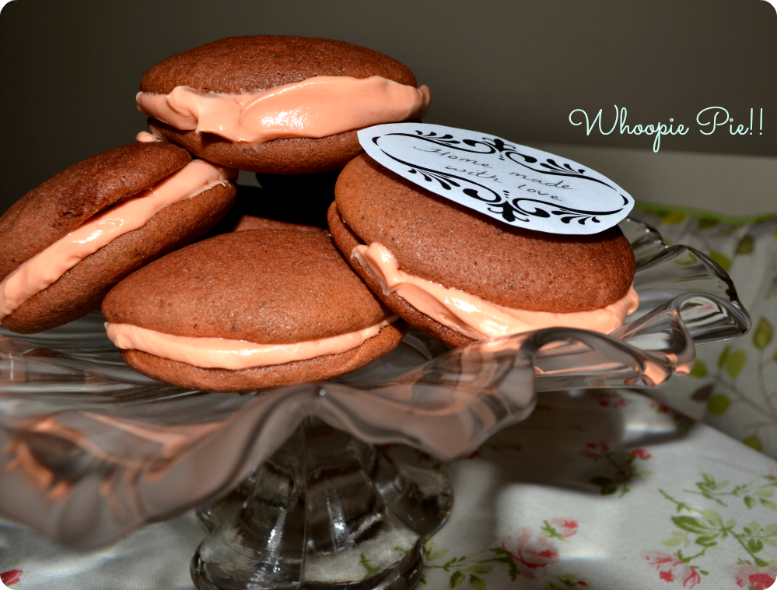 Whoopie Pie's -closer look
