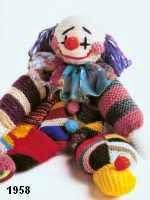 patron gratis payaso amigurumi de punto, free knit amigurumi pattern clown