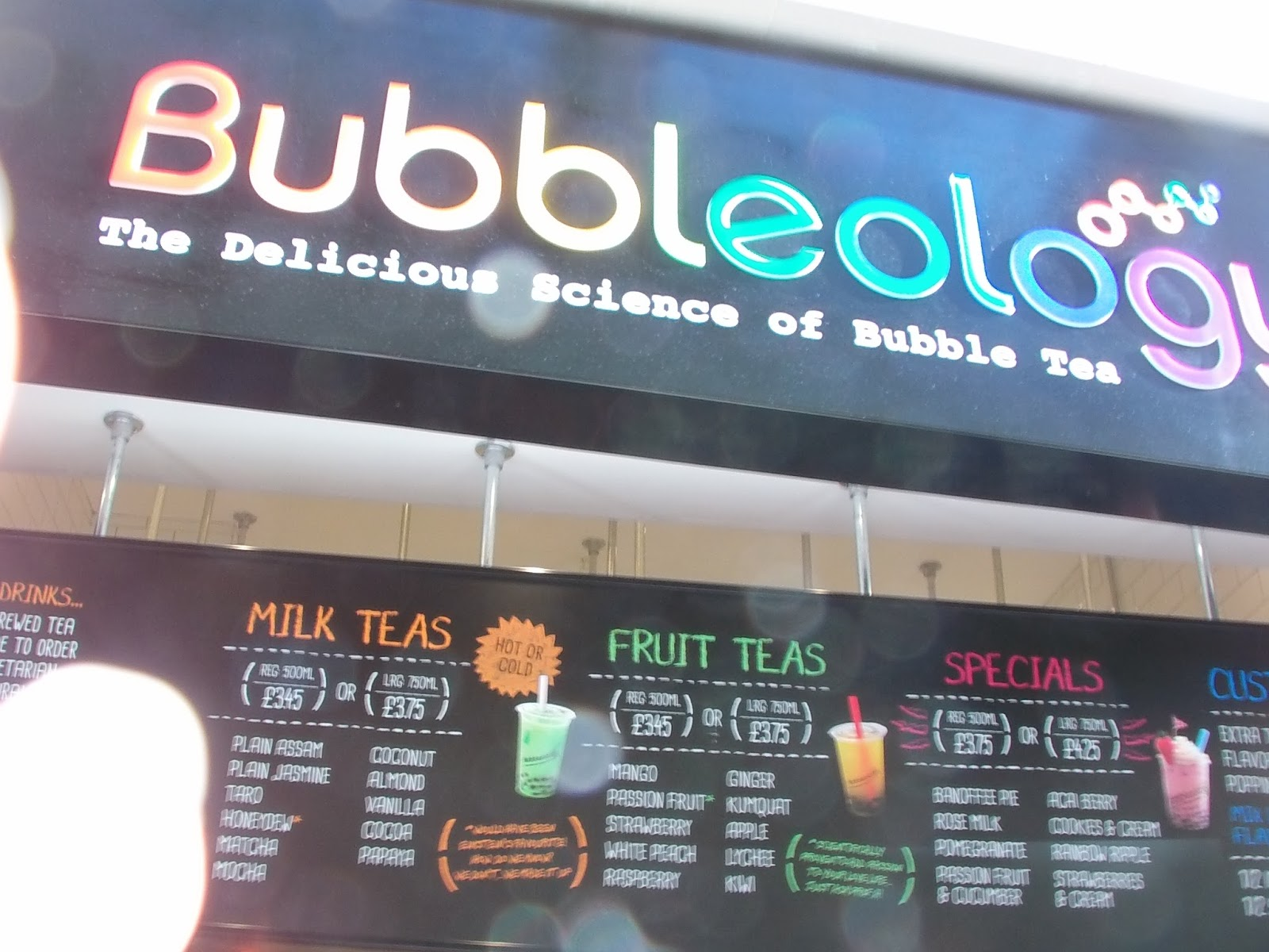 bubbleology lab report
