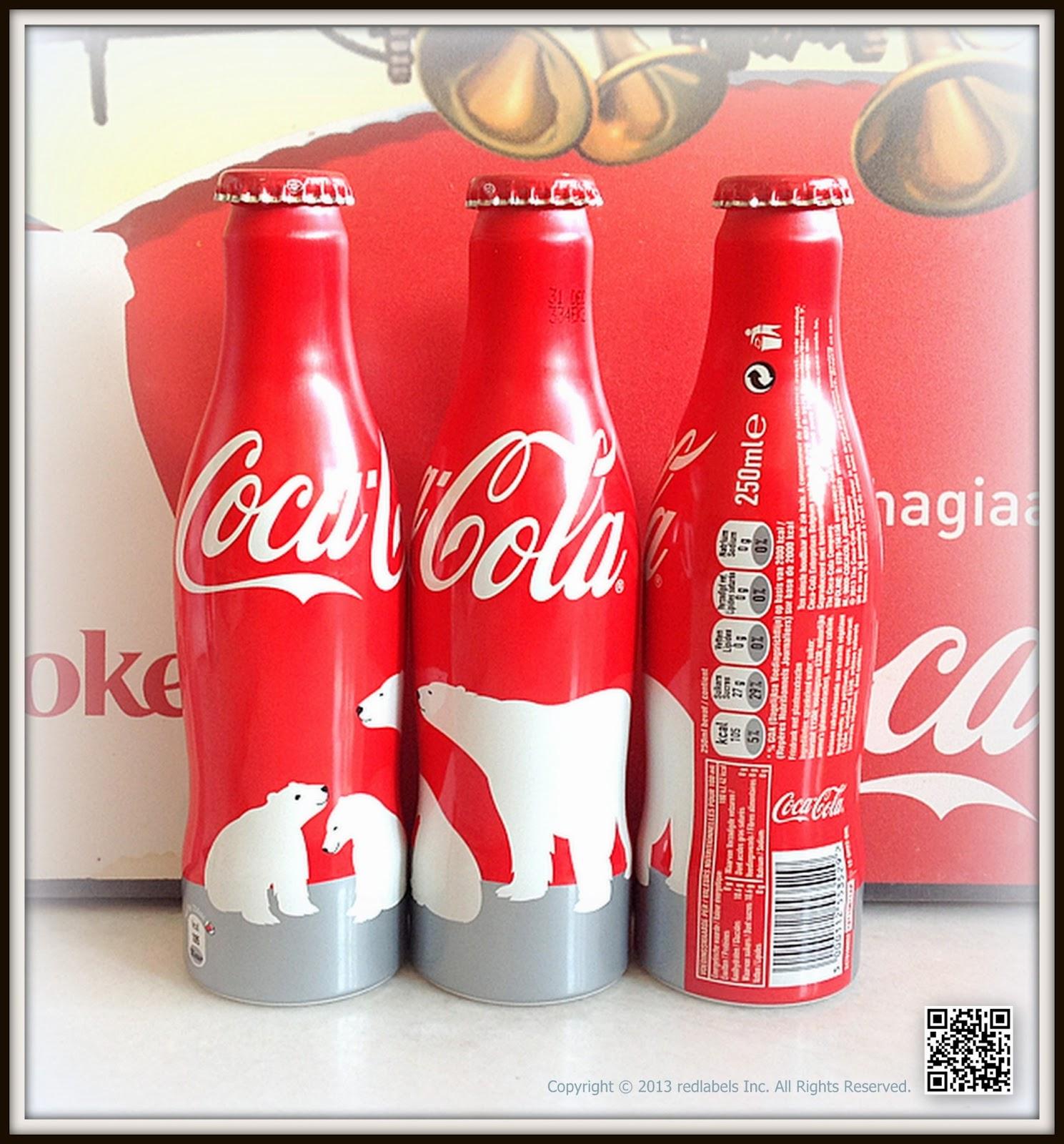 aluminum bottle collector club coca cola arctic home polar bear aluminum bottle 2013 belgium. Black Bedroom Furniture Sets. Home Design Ideas