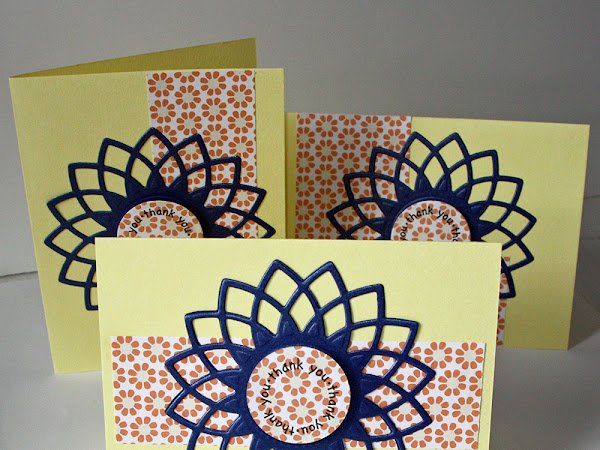 Quick and Elegant Thank You Cards