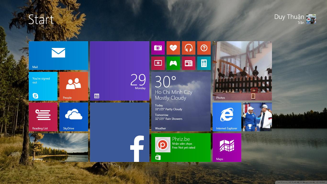 Hướng dẫn cài đặt Windows 8.1 chi tiết nhất