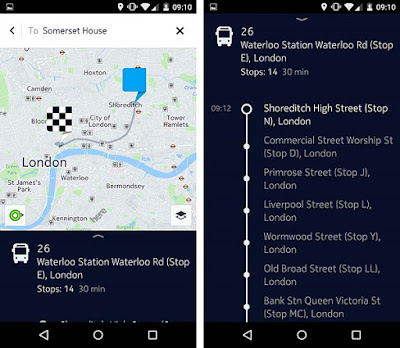 HERE Maps for Android update brings new contextual menu