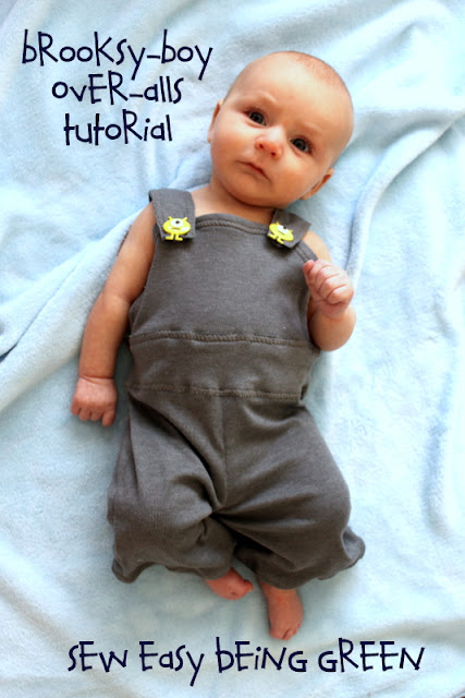baby coveralls tutorial