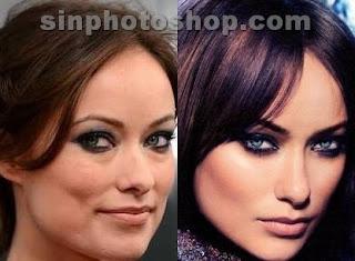 Olivia Wilde antes y después