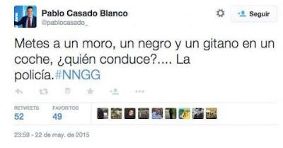 El falso Tuit de Pablo Casado