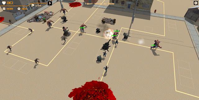 Zombie Tower Defense v2.0 Apk+Datos SD Full