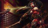 Chinese Crimson Akali