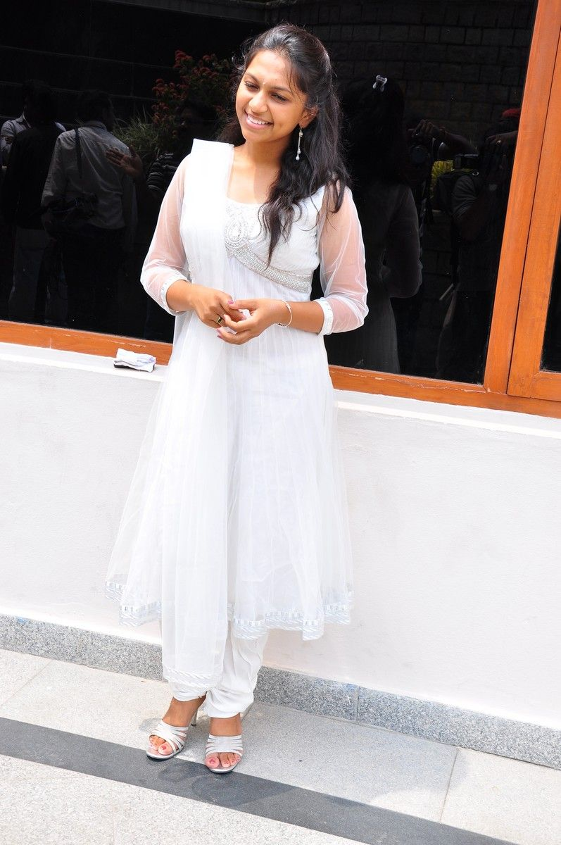Sri  New Telugu Heroine PicsPhotos white dress Photoshoot images