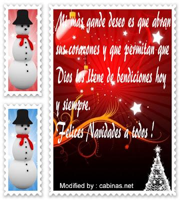 Cariñosos mensajes de navidad