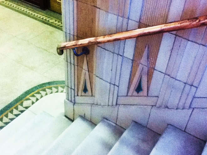 Staircase in the Atlas Building