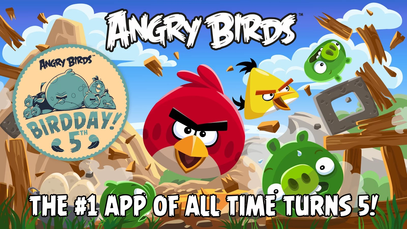 Review Game Angry Birds