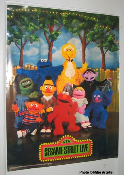 Sesame Street Live Playset