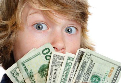 What phrase..., Index of teens for cash