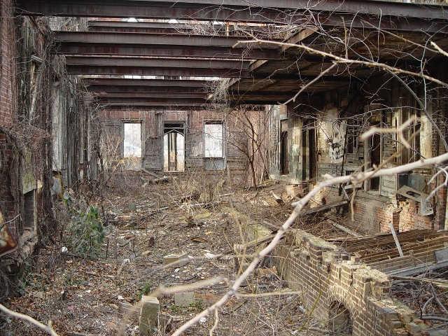 Estación de tren abandonada de Detroit