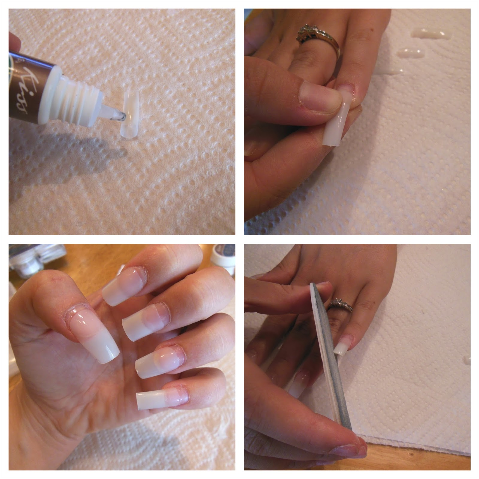 Cosmetic Queen Blog: How To: Acrylic Nails At Home