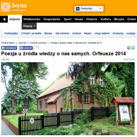 http://www.polskieradio.pl/7/178/Artykul/1167086,Poezja-u-zrodla-wiedzy-o-nas-samych-Orfeusze-2014