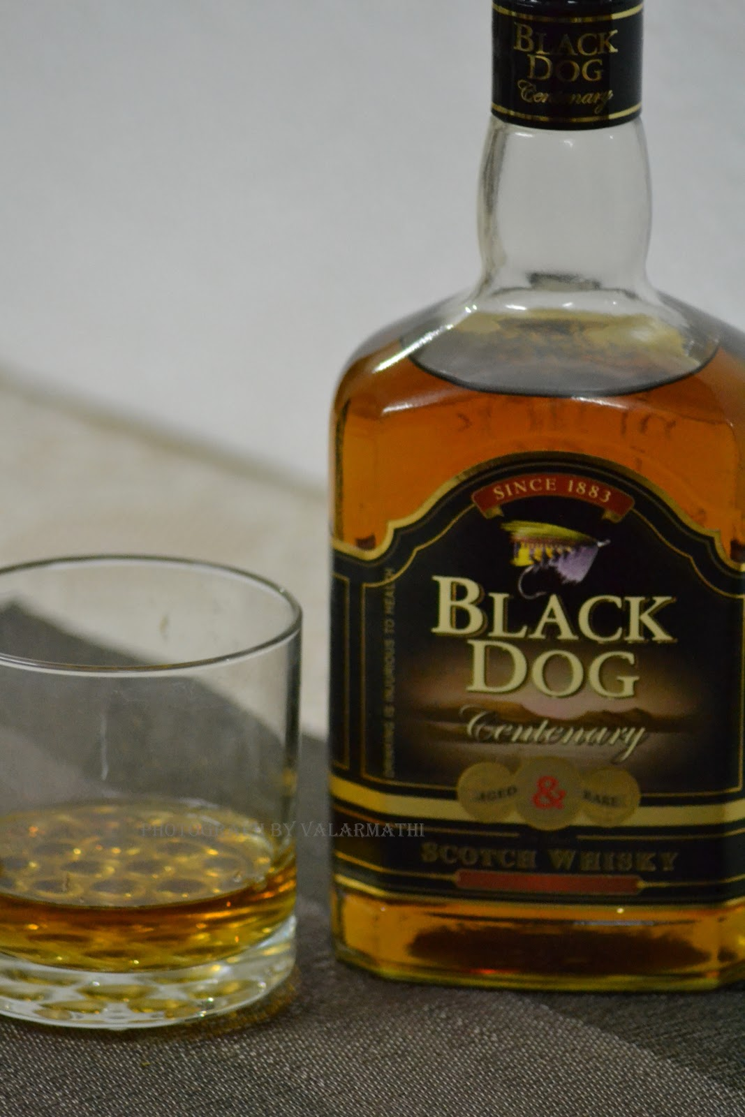 Black Dog Whisky Photo