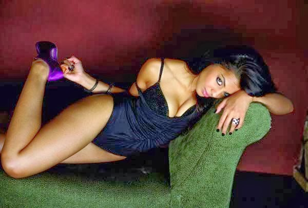 Mughda Godse hot nude on sofa