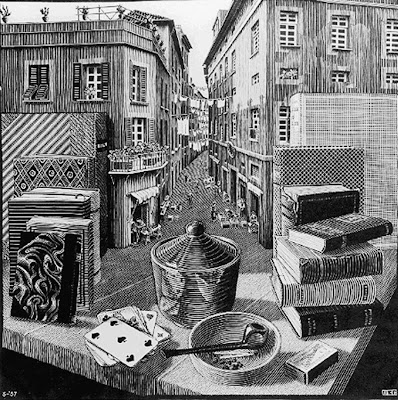 http://4.bp.blogspot.com/-Ai5AqjN2B6I/TmCz7z-S84I/AAAAAAAAAm0/Y-KKB1ADa-s/s1600/Escher%2B-%2BStillLifeandStreetScene.jpg