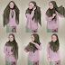 Aneka Model Jilbab Masa Kini dan Cara Pemakaiannya dengan Benar