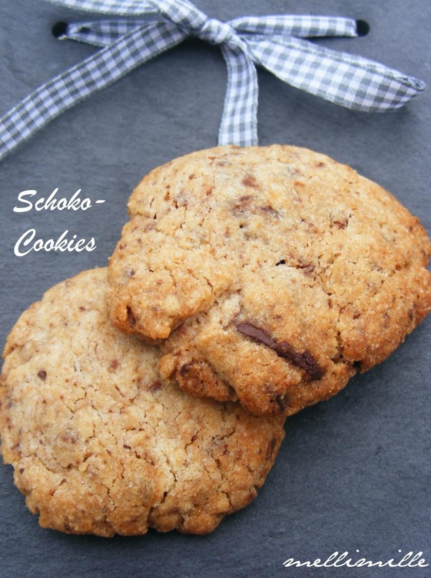 mellimille shopping ist ein grund zum backen teil 1 schoko dinkel cookies. Black Bedroom Furniture Sets. Home Design Ideas