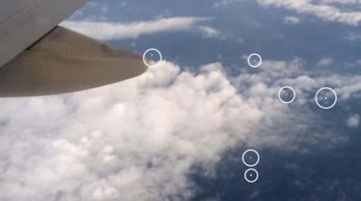Los avistamientos de OVNIs en los aviones de pasajeros están aumentando